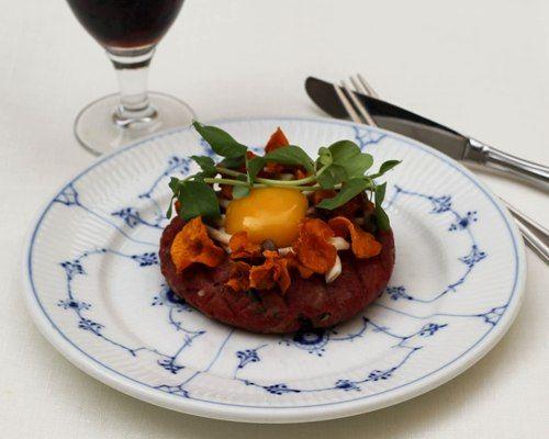 opskrift tatar smørrebrød frokost restaurant kronborg københavn