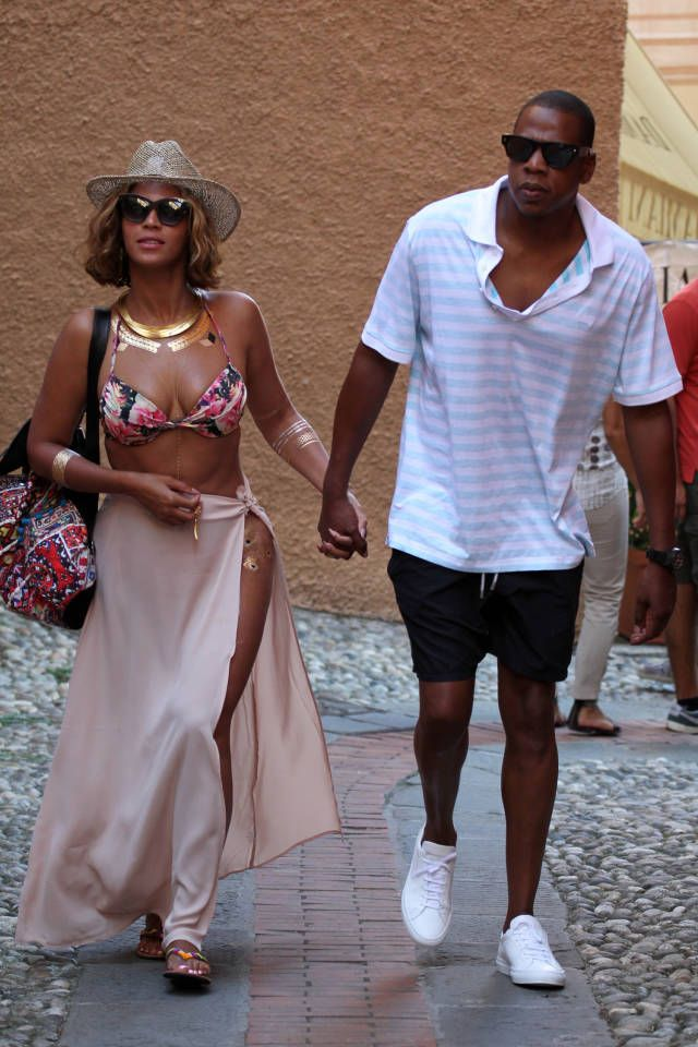 Find out what Beyoncé and Jay Z did while on vacation in Italy.