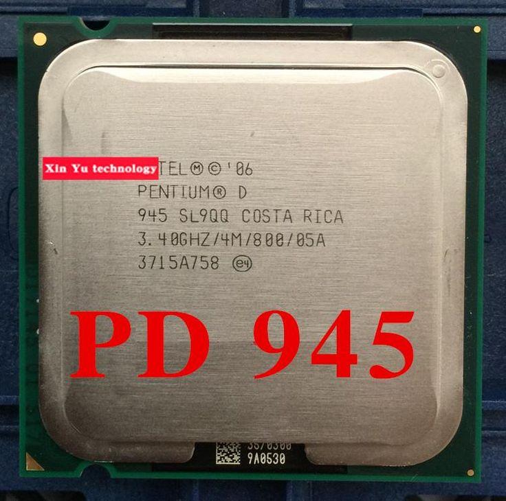 Lifetime warranty Pentium D 945 3.4GHz 4M 800 Dual Core desktop processors CPU Socket LGA