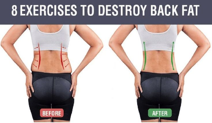 These exercises are specifically designed to give you core strength generally and burns your lower back fat in an instant. Well not exactly an instant but stick to these regularly and you'll soon see...