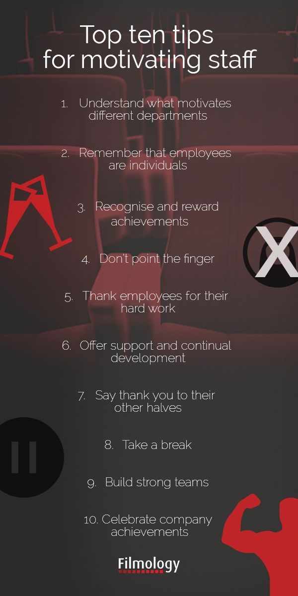 Top 10 tips for motivating staff #employees #rewards #incentives