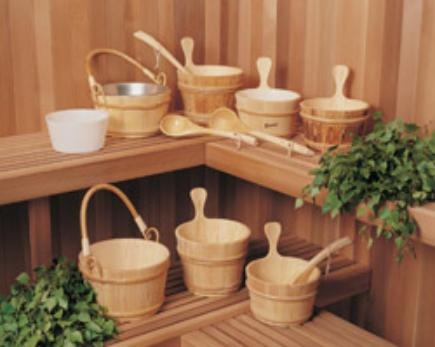 Sauna Accessories - Buckets,