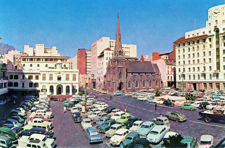 Greenmarket Square, Cape Town in the 1960's