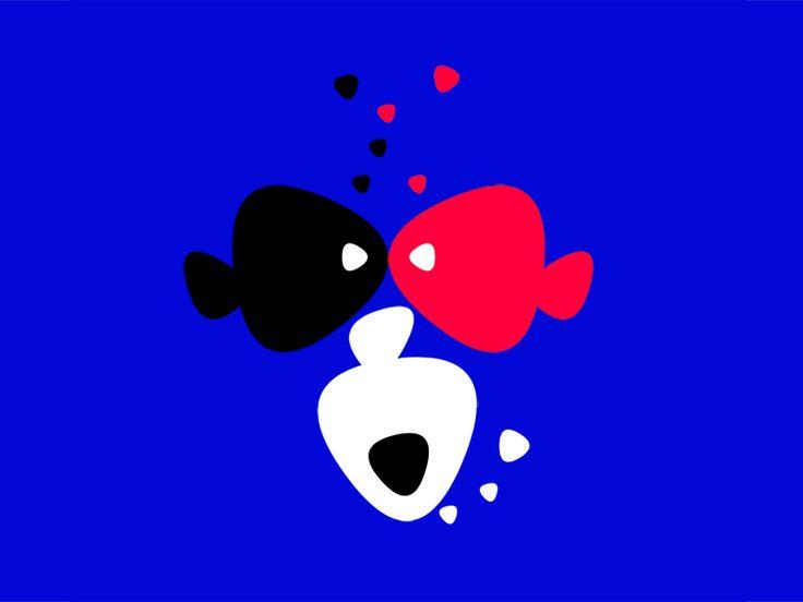 3 Fishes vs. Monkey    by Ana Hoxha
