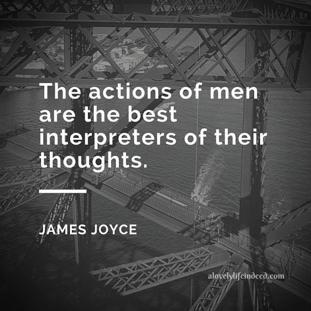 A Lovely Life, Indeed: Thursday Thoughts by James Joyce