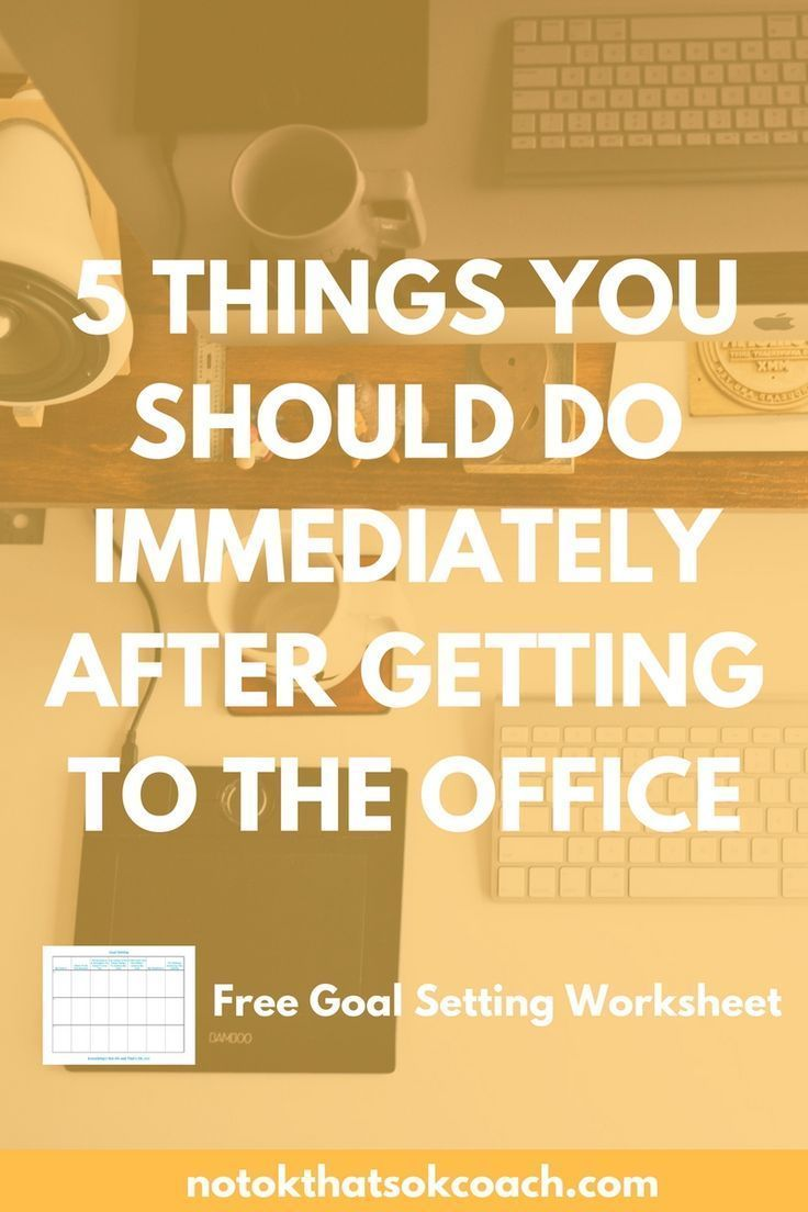 Home Office Organization Decor