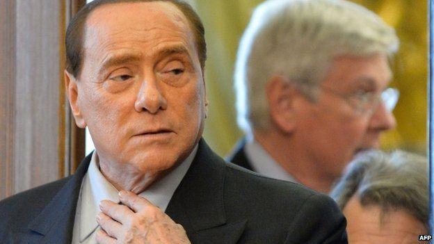 BBC News - Italian ex-PM Berlusconi renounces knight title