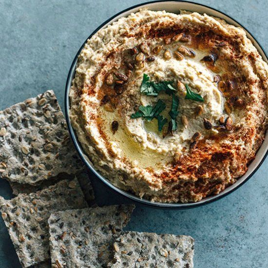 Hummus is not just tasty but also very nutritious and healthy if you use real ingredients. Here's how to do it.