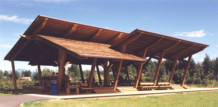 Large Picnic Shelter Plans : Park picnic shelter designs woodworking projects plans