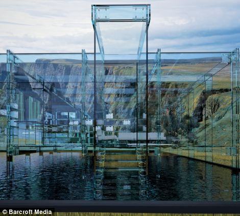 The Glass House Would Offer Spectacular Views. These Artist Images Show How  The Stunning Home Good Ideas