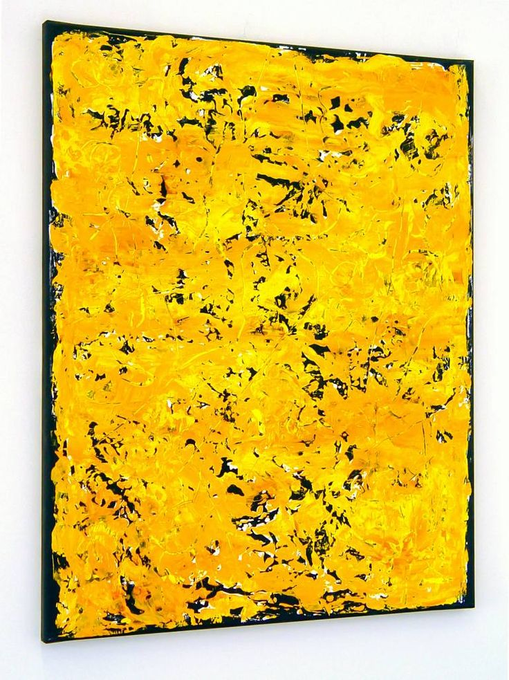 Buy GT962, a Acrylic on Canvas by Radek Smach from Czech Republic. It portrays: Abstract, relevant to: painting, structure, texture, yellow, layered painting, contemporary, abstract, minimal, modern Original abstract layered painting on canvas. Ready to hang. No framing required (it can be framed). The sides of the painting are painted. Signed on the back