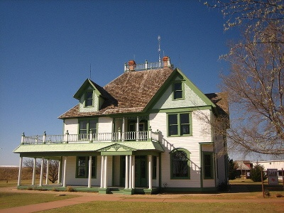 Barton House, Lubbock, TX. Stop by and visit the National Ranching Heritage Center.