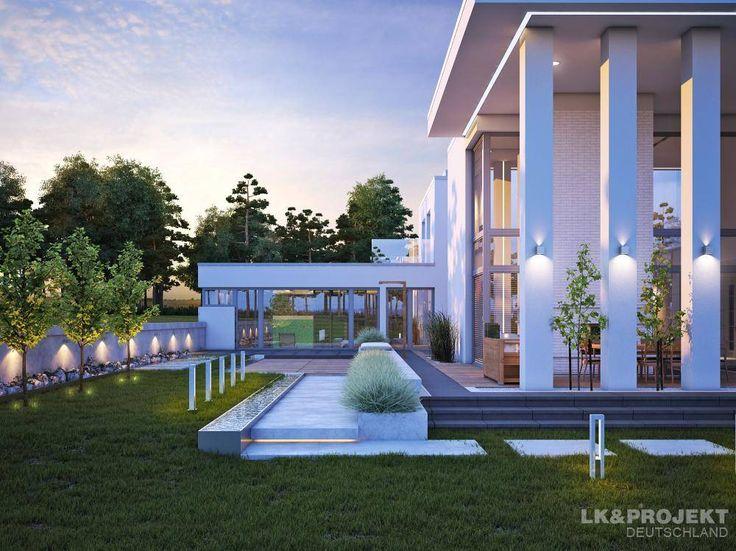Descubra fotos de Habitações translation missing: pt.style.habitações.moderno por LK&Projekt GmbH. Encontre em fotos as melhores ideias e inspirações para criar a sua casa perfeita.