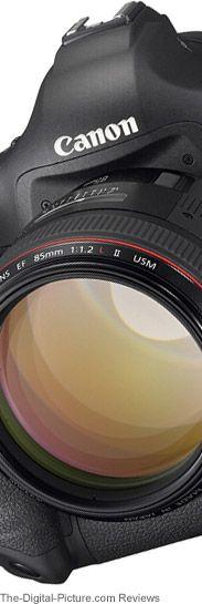 """""""The Digital Picture"""", excelente portal web con recomendaciones y review referidos a  los equipos de fotografía marca CANON"""