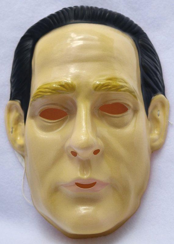 Etsy Halloween 2020 Data Star Trek Data Vintage Halloween Mask Rubies 1992 PVC | Etsy in
