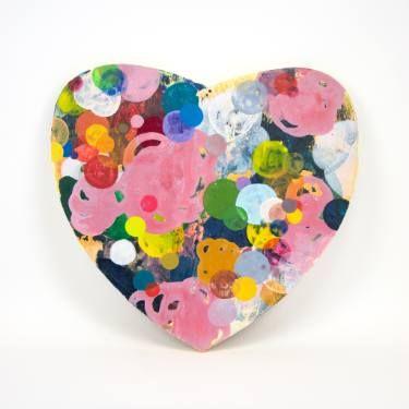"Saatchi Art Artist Dennis Happé; Painting, ""Heart"" #art"