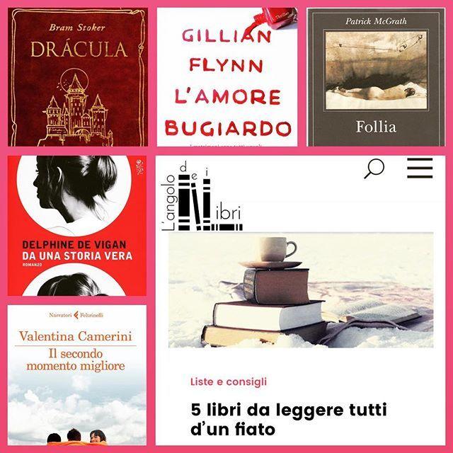 5 libri da leggere tutto d'un fiato.