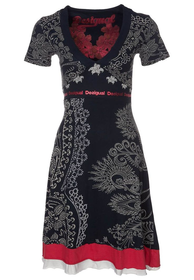 Desigual Berlin - Robe - Trapèze - Imprimé - Manches courtes - Femme   https://www.amazon.fr/Desigual-Berlin-Trap%C3%A8ze-Imprim%C3%A9-Manches/dp/B00OJAHWXA?ie=UTF8&camp=1642&creative=6746&creativeASIN=B00OT7JOZW&linkCode=as2&redirect=true&ref_=as_li_tl&tag=httplemeilleu-21