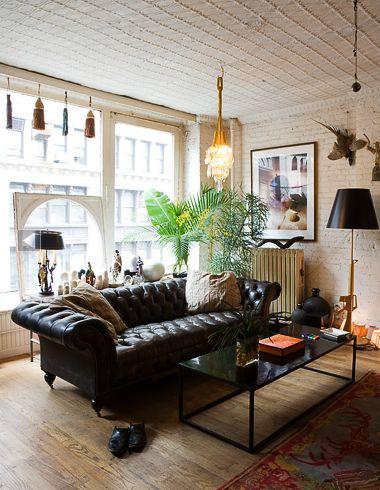 Desire to inspire trevor tondro - Chesterfield sofa living room ideas ...
