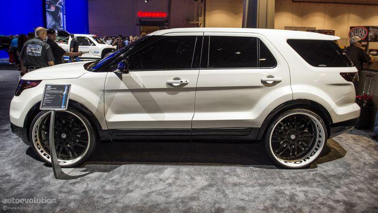 2012 SEMA: 2013 Ford Explorer Sport by Forgiato [Live Photos] - autoevolution