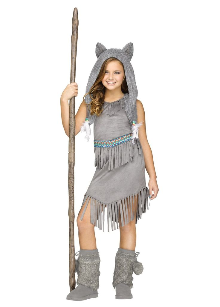 wolf dancer indian girls costume indian costumes new for 2016 - Wolf Halloween Costume Kids