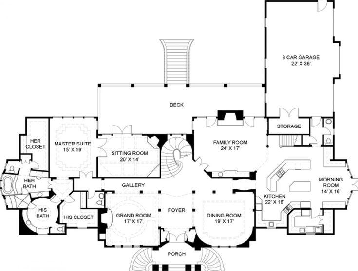 73 best floor plans images on pinterest | floor plans, house