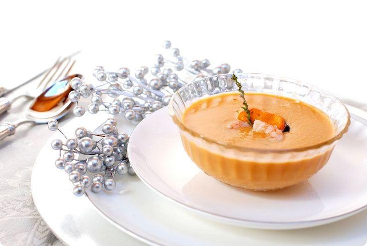 Receta de crema de marisco con Thermomix®. Usa los pescados y mariscos que mejor se adapten a tu gusto.