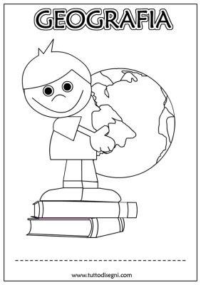 Tutto Disegni Geografia: disegni, da colorare, da stampare