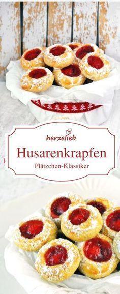Rezept Für Husarenkrapfen Husarenkrapferl Oder Engelsaugen Recipe