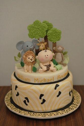 Another cute jungle cake
