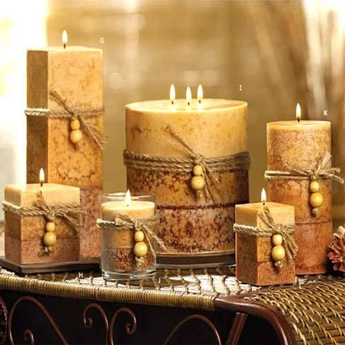 Home Decor Ideas With Candles: ... Home & Garden > Artificial