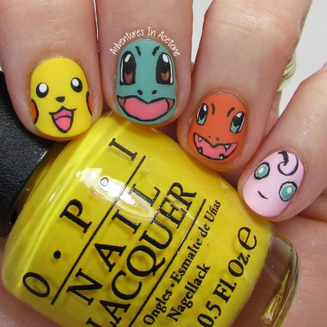 Pokemon Nail Art 2