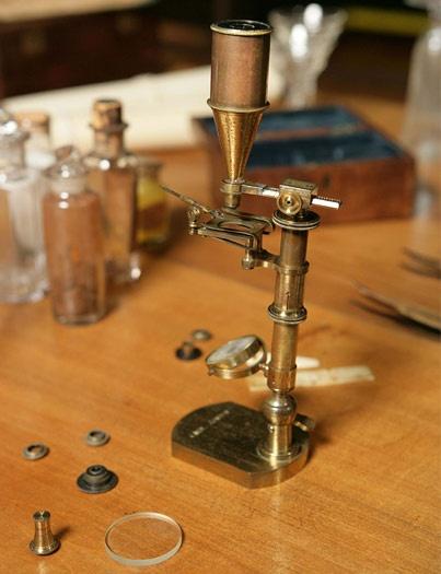 darwin's microscope