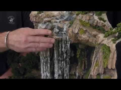 how to make realistic water in a diorama