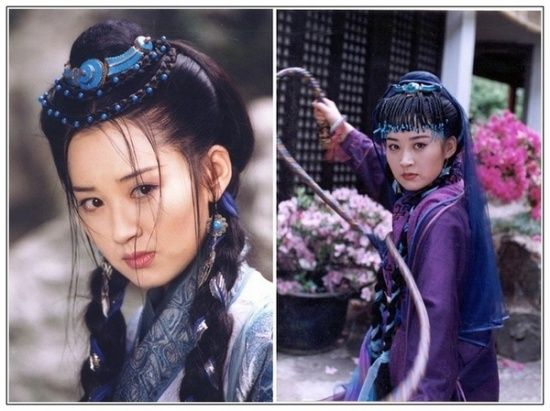 The 10 Beauties in Jin Yong Wuxia Movies & TV plays