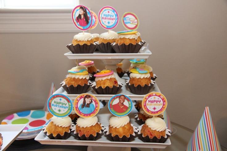 Nothing bundt cake bundtinis with diy printed cupcake