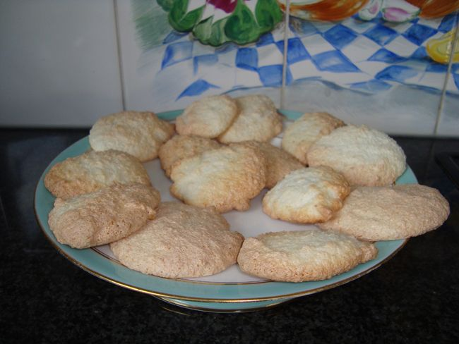 Kokoskoekjes in de thermomix, Recepten - Thermomix recepten, Gette.org