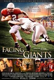 Facing the Giants.  A wonderful movie!  Must see!  By Sherwood.