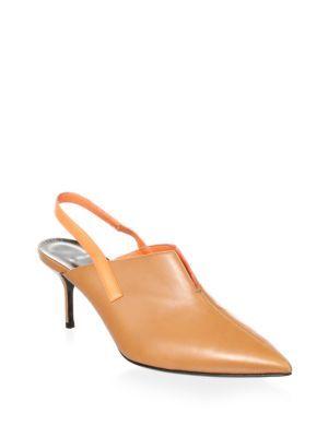 PIERRE HARDY | Leather Slingback Pumps #Shoes #PIERRE HARDY