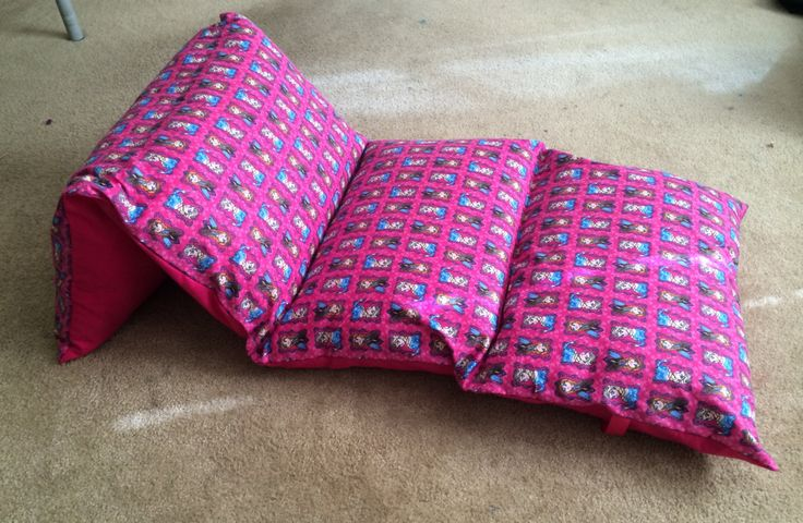 Disney Frozen Elsa and Anna Pillow Nap Mat Bed in Pink Multi Color by SharonsCrafties on Etsy https://www.etsy.com/listing/203294358/disney-frozen-elsa-and-anna-pillow-nap
