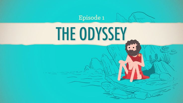 A Long and Difficult Journey, or  The Odyssey: Crash Course Literature 201 - YouTube