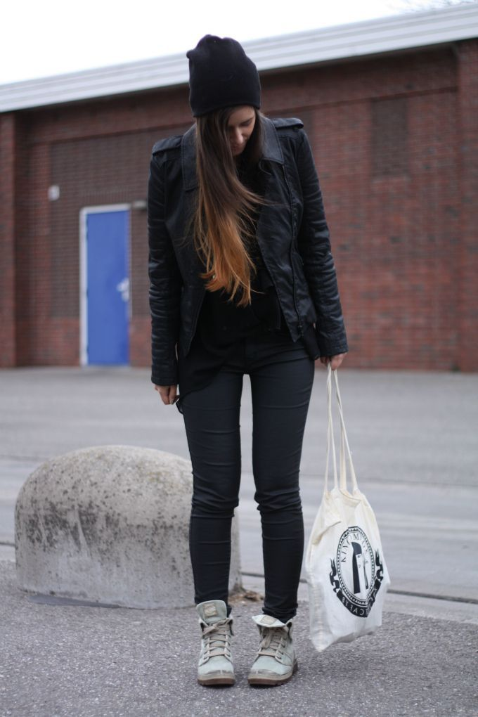 Model Comedy Factory Palladium Palladium Womenu0026#39;s Pampa Tactical Flats Black/old Rose Shoes Boots ...