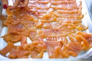 Имбирный лосось