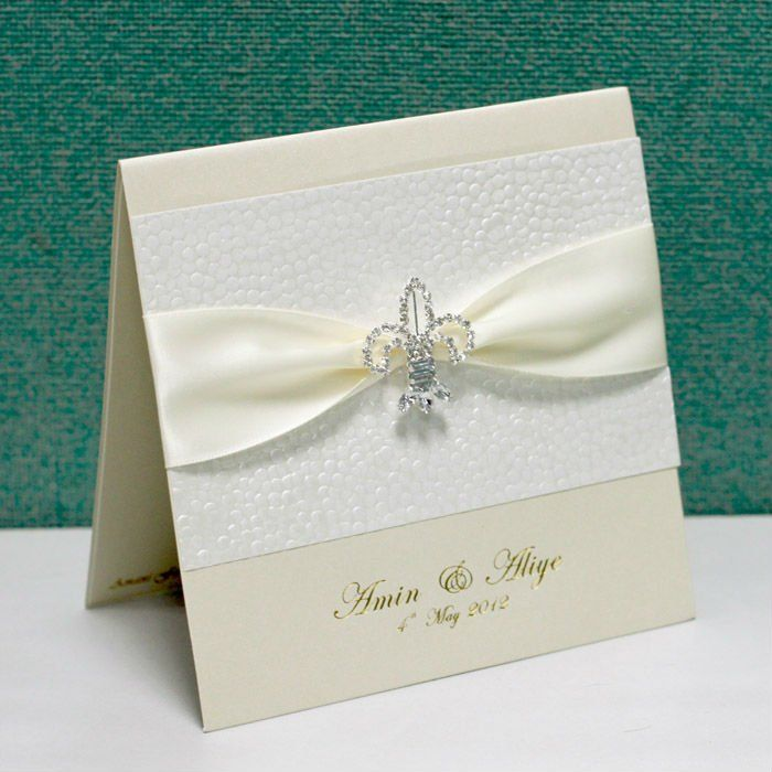 gorgeous elegant lace wedding invitations card EA961 wedding