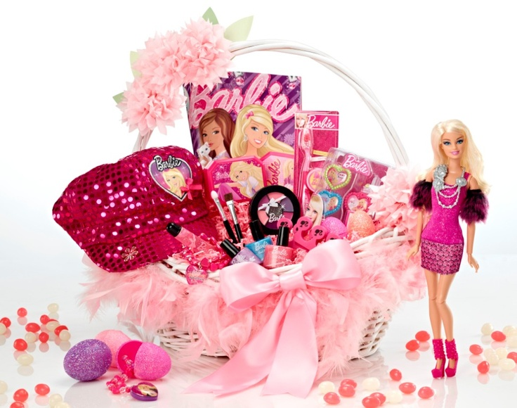 Barbie Easter Basket for your little fashionista!