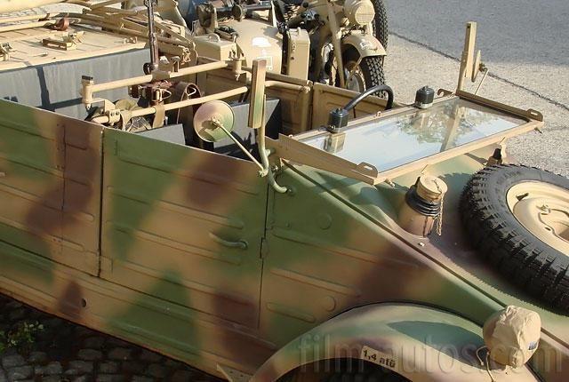 Oldtimer VW Typ 82 Kübelwagen zum Mieten