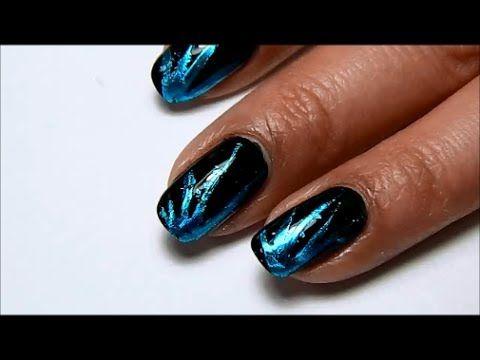 Nail Challenge #16 Foil Nail Art