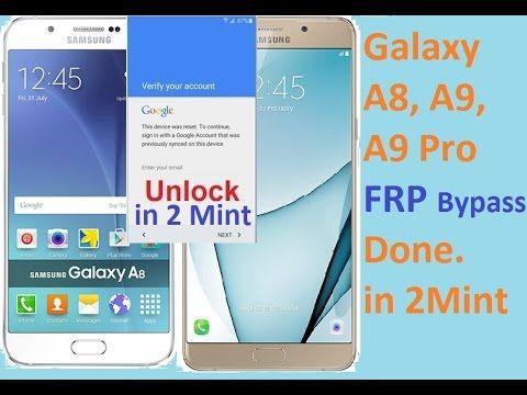 Samsung Galaxy A8, A9, A9 Pro Verify Google Account Bypass Easiest Method