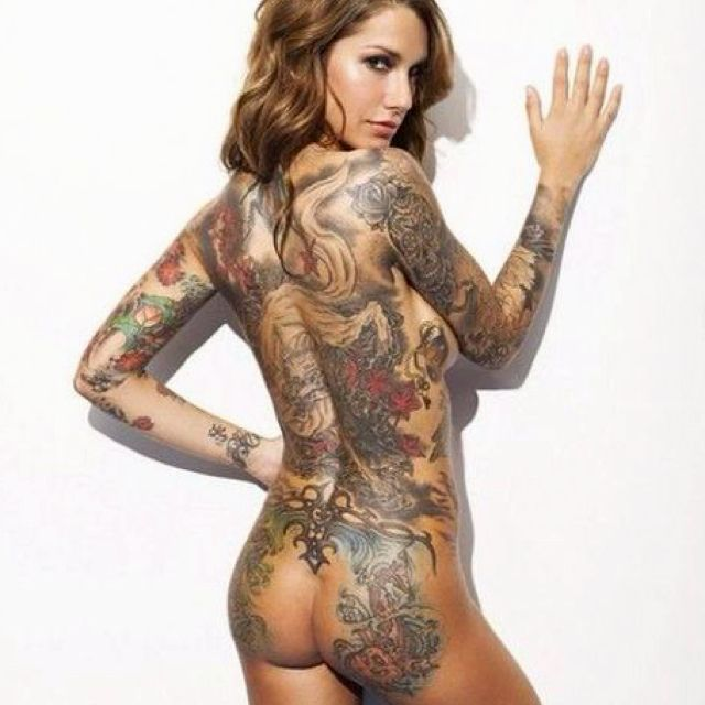 from Kellen naked babes with tatts