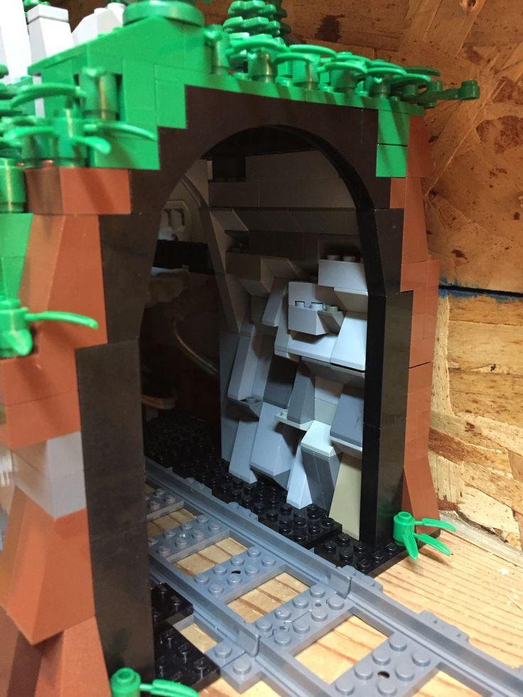 Lego Train Tunnel   Lego MOCs   Pinterest   Train tunnel ...